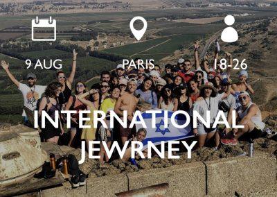 INTERNATIONAL JEWRNEY 9/8