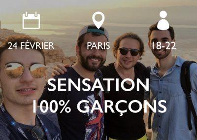 100% GARÇONS