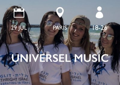 UNIVERSEL MUSIC 29/7